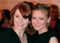 Kirsten Dunst and Bryce Dallas Howard at the Glamour Reel Moments party held at the Directors Guild of America.