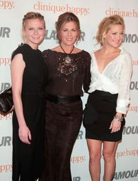 Kirsten Dunst, Rita Wilson and Kate Hudson at the Glamour Reel Moments party held at the Directors Guild of America.