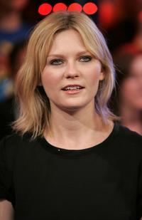 Kirsten Dunst at the MTV's Total Request Live at the MTV Times Square Studios.