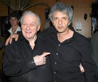 Charles Durning and Peter Antico at the Los Angeles world premiere of