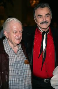 Charles Durning and Burt Reynolds at the 24th Annual Golden Boot Awards.
