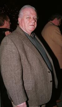 Charles Durning at the Mr. Chows restaurant.
