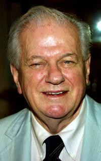 Charles Durning at the Pacific Broadcaster's event honoring actor Jack Klugman.