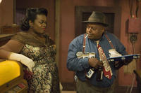 Davenia McFadden and Charles S. Dutton in