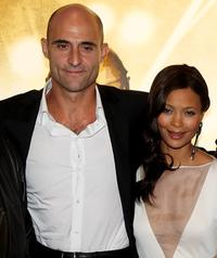 Mark Strong and Thandie Newton at the world premiere of