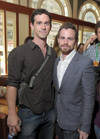 Director Shiloh Strong and Rider Strong at the Director's Brunch at The 2011 Tribeca Film Festival in New York.