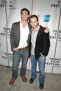 Shiloh Strong and Rider Strong at the premiere of