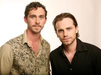 Shiloh Strong and Rider Strong at the Amex Insider's Center during the 2008 Tribeca Film Festival.