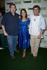 Kevin Heffernan, Olivia Munn and Steve Lemme at the High Times Magazine's 8th Annual Stony Awards.