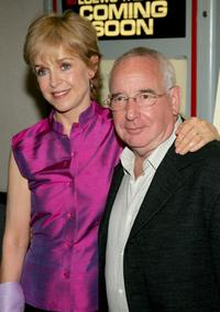 Jill Eikenberry and her husband Michael Tucker at the premiere of