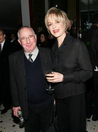 Jill Eikenberry and Michael Tucker at the Broadway Cares / Equity Fights AIDS Presents Nothing Like A Dame 2007 after party at John's Pizza.
