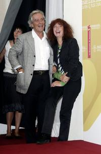 Pierre Arditi and Sabine Azema at the photocall to promote the film