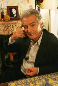 Pierre Arditi at the set of the new television series