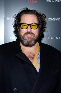 Julian Schnabel at the screening of