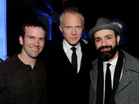 Lucas Black, Paul Bettany and Scott Stewart at the after party of the California premiere of