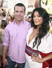 Lucas Black and Nathalie Kelley at the premiere of
