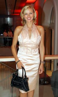Veronica Ferres at the Bertelsmann Party.
