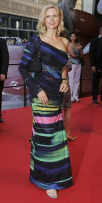 Veronica Ferres at the German premiere of