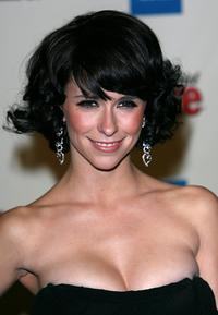 Jennifer Love Hewitt at the Us Weekly and Rolling Stone Oscar party.