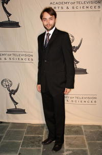 Vincent Kartheiser at the Academy of Television Arts and Sciences and the Writers Peer Group Emmy nominee party.