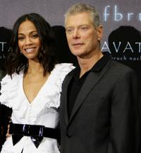 Zoe Saldana and Stephen Lang at the photocall of