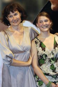 Anne Le Ny and Yeelem Jappain at the screening of