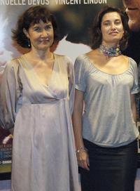 Anne Le Ny and Emmanuelle Devos at the screening of