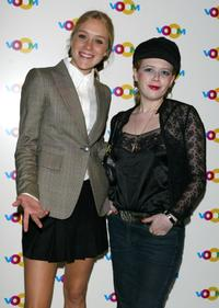Chloe Sevigny and Natasha Lyonne at a party celebrating the launch of Voom Cablevision Satellite Network.