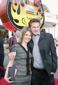Dash Mihok and his sister at the world premiere of