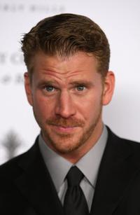 Dash Mihok at the grand opening of new SLS Hotel.