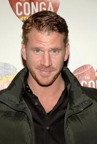 Dash Mihok at the grand opening of Conga Room.