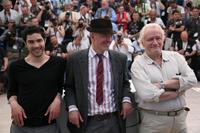 Tahar Rahim, Jacques Audiard and Niels Arestrup at the photocall of