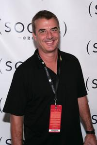 Chris Noth at the concert by Dave Matthews Band & Tim Reynolds.