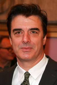 Chris Noth at the New York opening night of