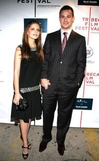 Sarah Michelle Gellar and Freddie Prinze, Jr. at the 2007 Tribeca Film Festival.