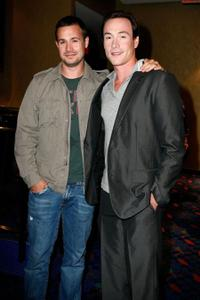 Freddie Prinze, Jr. and Chris Klein at the premiere of