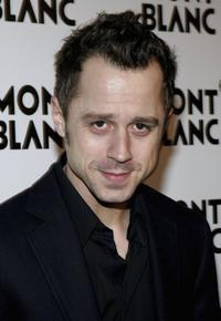 Giovanni Ribisi at the party to celebrate Montblanc's 100th Anniversary.