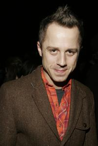 Giovanni Ribisi at the Adidas Y-3 Autumn/Winter 2006 Collection.
