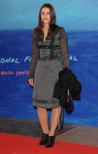 Ingrid Rubio at the closing Ceremony of 55th San Sebastian International Film Festival.