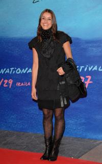 Ingrid Rubio at the 55th San Sebastian International Film Festival Opening Night.