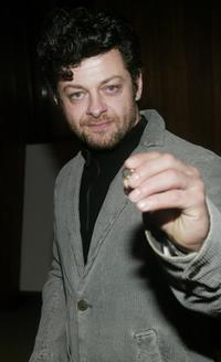 Andy Serkis at the special screening of