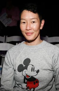 Jenny Shimizu at the DKNY Fall 2010 Fashion Show during the Mercedes-Benz Fashion Week in New York.