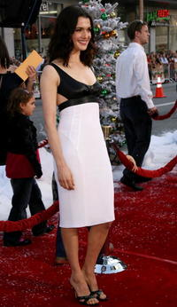 Actress Rachel Weisz at the Hollywood premiere of