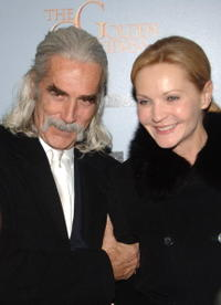 Sam Elliott and Joan Allen at the premiere of