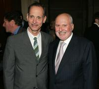 John Waters and Michael Lynne at The Brooklyn College Foundation dinner and award gala.