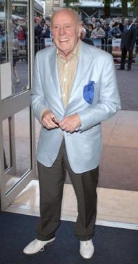 Richard Wilson at the UK premiere of