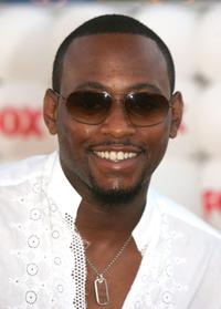 Omar Epps at the Fox All-Star Television Critics Association party.