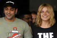 Salman Khan and Sienna Miller at the special screening of