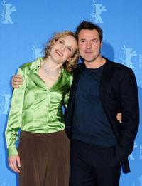 Juliane Koehler and Sebastian Koch at the photocall of