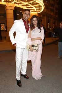 Akshay Kumar and Twinkle Khanna at the special screening of